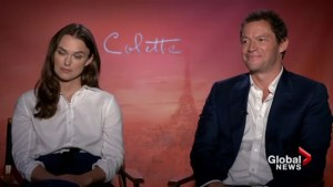 Kiera Knightley's secret to chemistry on the set of Colette