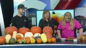 Cooking with pumpkins