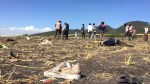 Officials survey wreckage of Ethiopian Airlines plane crash