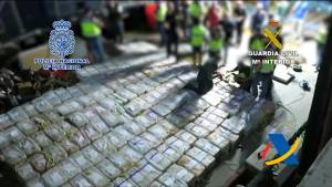 Spain seizes massive cocaine haul in Atlantic