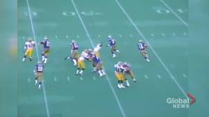 Blue Bombers Matt Dunigan Passes For 713 Yards