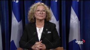 Marguerite Blais 'very, very sad' about Gilles Duceppe mother's death
