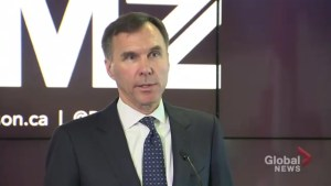 Bill Morneau avoids question about stopping transfer payments to B.C. over Trans Mountain pipeline