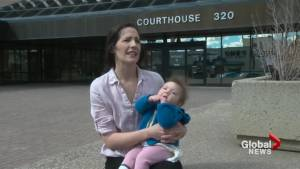 Lethbridge mom says she was kicked out of courtroom due to fussy baby