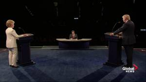 Presidential debate: Chris Wallace presses Donald Trump to clarify his position on abortion