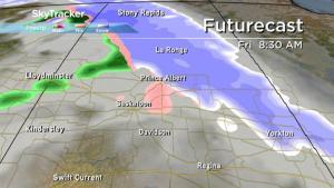 Saskatoon weather outlook: risk of mixed precipitation, warm air sticks around