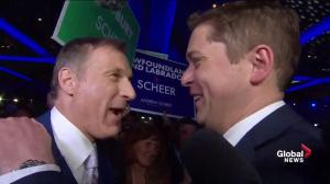 Andrew Scheer announced as the new leader of the federal Conservative party