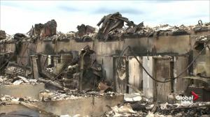 Parts of Fort McMurray left in ruins following wildfire