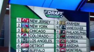 2019 NHL Draft gets underway at Vancouver's Rogers Arena