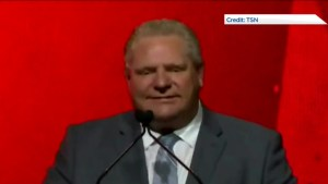 Doug Ford booed at Special Olympics Ontario event
