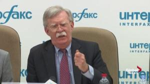 John Bolton says Russia hurt itself by meddling in U.S. vote