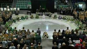 Moment of silence held for Humboldt Broncos crash victims