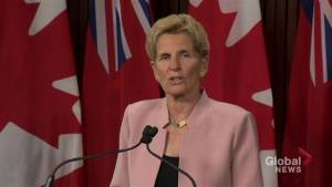 Kathleen Wynne takes aim at NDP in final stretch of campaign, after bombshell weekend announcement