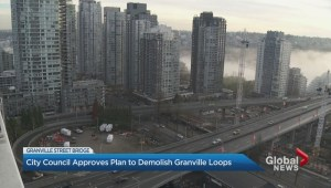 Vancouver to demolish Granville Bridge loops