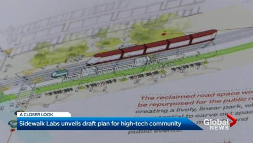 Sidewalk Labs unveils detailed plans to transform Toronto waterfront