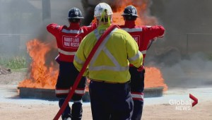 Rescue competition tests miners' emergency response skills