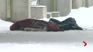 Sleeping rough in Montreal winters