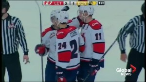 Lethbridge Hurricanes double up Brandon Wheat Kings 8-4