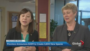 NDP government promises new child care spaces