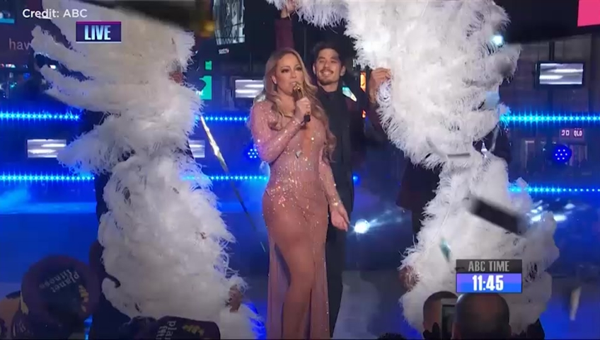New Year's Eve 2018: Watch Mariah Carey, Camila Cabello, BTS and More