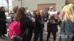 Trent University students walk out to protest OSAP changes