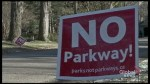 Peterborough transporation plan excludes The Parkway extension