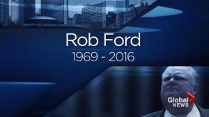 Rob Ford, 46, dead after battle with cancer