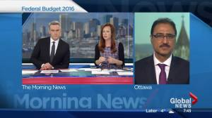 Infrastructure Minister Amarjeet Sohi on Federal budget and Alberta
