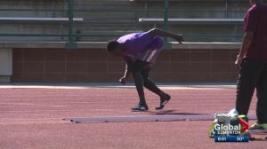 Middle distance Edmonton track star on the rise