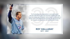 'He was my childhood hero': Toronto baseball fans react to the death of Roy Halladay