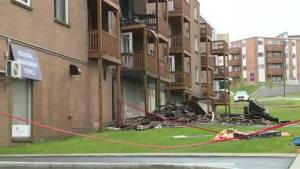 Canadian Red Cross helping tenants displaced following two fires in Dartmouth