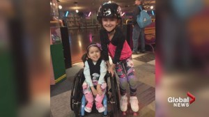 Airdrie family heartbroken after 4-year-old girl in wheelchair is asked to leave roller rink