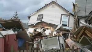 Man rescued after house explosion in Hamilton