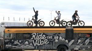 Ride the Vibe stunt crew amazes during stop in Saskatoon