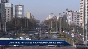Gift giving affects air pollution: UBC professor