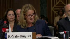 Ford said 'panic' drove her to contact Washington Post about her story