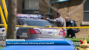Standoff in Toronto ends with arrest of Brantford suspect