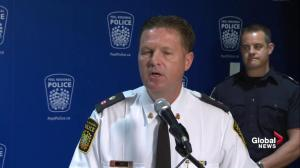 Peel police explain why they have not declared restaurant bombing to be act of terror