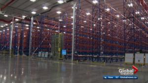 Massive Liquor Distribution Centre Complete