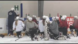 Peterborough Ice Kats face off against team from China