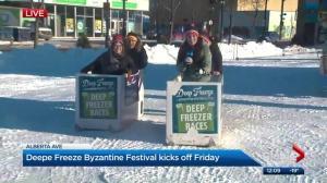 Deep freeze festival to kick off in Edmonton