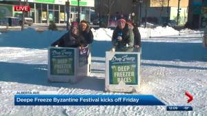 Deep freeze festival to kick off in Edmonton