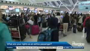 What rights do passengers have on flights?
