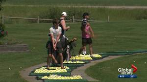 Edmonton golf courses coping with wet summer
