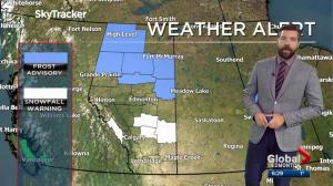 Edmonton Weather Forecast: Sept. 21