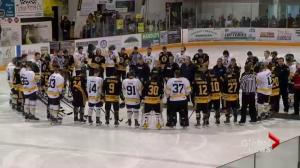 1st SJHL game since Humboldt Broncos bus crash