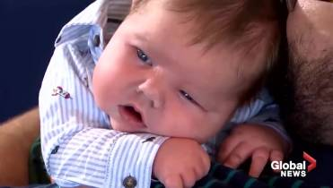 texas baby tips the scales at 15 lbs parents say he s meant for