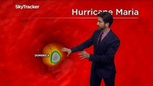 Hurricane Maria upgrades to category 5 before hitting Dominica