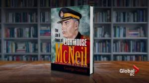 George Garrett writes book about life of Mountie Lighthouse McNeil