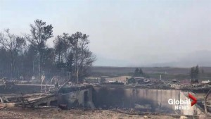 Well-known Rocking Heart Ranch destroyed in southern Alberta fires